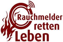Rauchmelder Retten Leben Logo